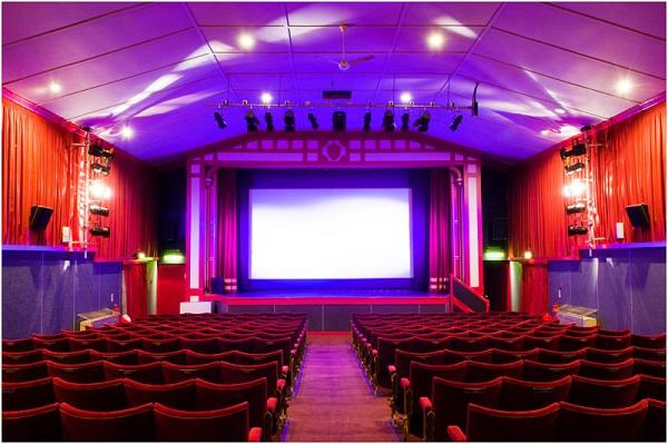 Our comfortable 294 seat auditorium, which includes Dolby Digital 7.1 Surround EX sound. � Leiston Film Theatre.