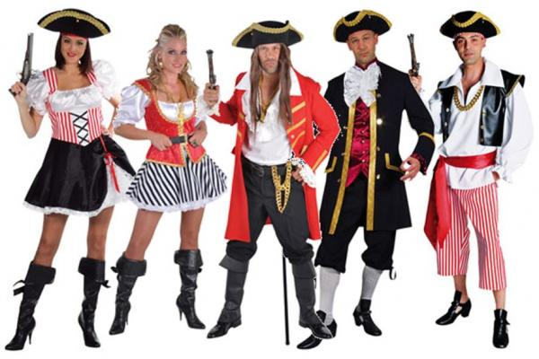 Leiston Film Theatre Costume Hire - Pirates
