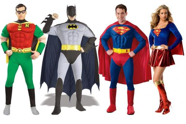 Leiston Film Theatre Costume Hire - Super Heroes